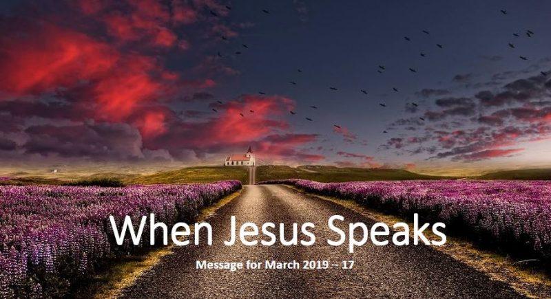 When Jesus Speaks